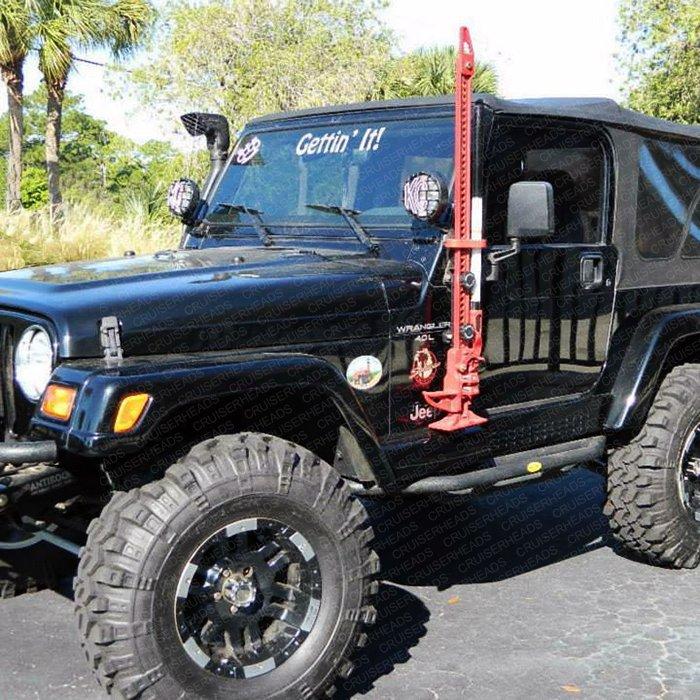 Hi Lift Jack Mounting System For Jeep 1997 2015 Tj Amp Jk