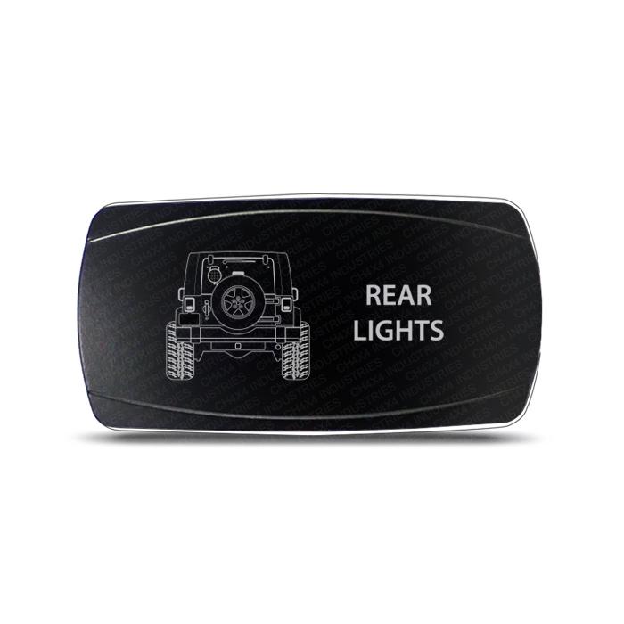 ch4x4 rocker switch jeep wrangler rear lights
