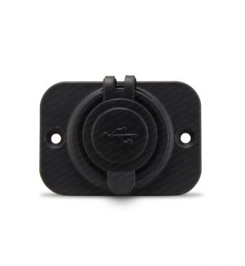 12v Dual USB Socket - Flush Mount