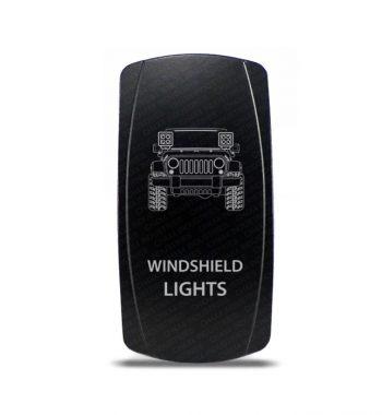 CH4x4 Rocker Switch Jeep Wrangler JK Windshield Lights Symbol
