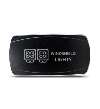 CH4x4 Rocker Switch Led Windshield Lights Symbol - Horizontal