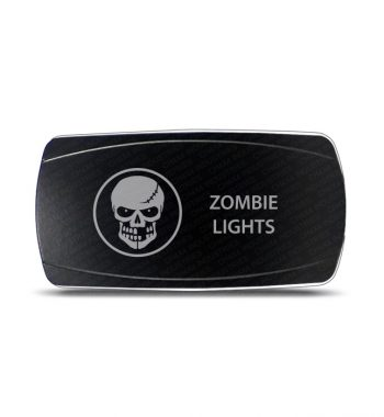 CH4x4 Rocker Switch Zombie Lights Symbol - Horizontal