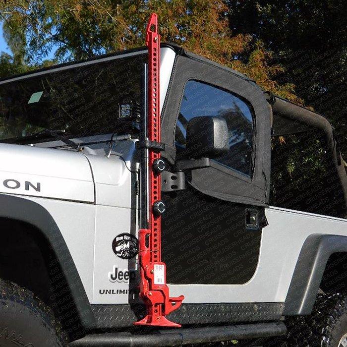 Hi-Lift Jack Mounting System For Jeep 1997-2015 TJ & JK