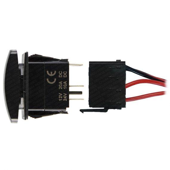 CH4X4 Rocker Switch Wiring Connector