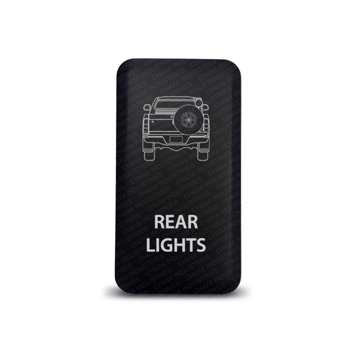 CH4x4 Toyota Push Switch Hilux Rear Lights Symbol