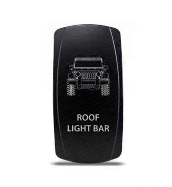 CH4x4 Rocker Switch Jeep Wrangler JK Roof Light Bar Symbol