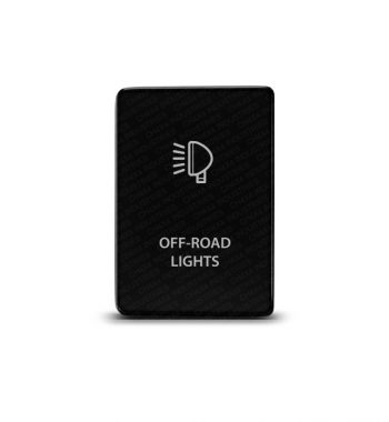 CH4x4 Toyota Small Push Switch Off-Road Lights Symbol
