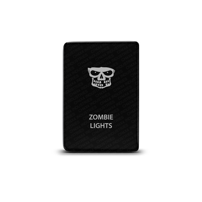 CH4x4 Toyota Small Push Switch Zombie Lights Symbol