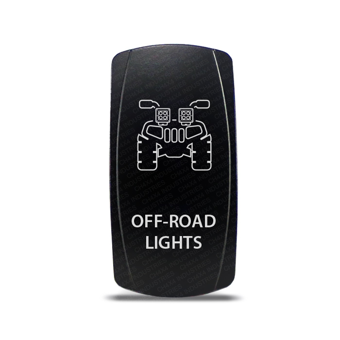 Dual Backlit WINCH IN//OUT BLUE Rocker Switch Horizontal UTV ATV OFFROAD