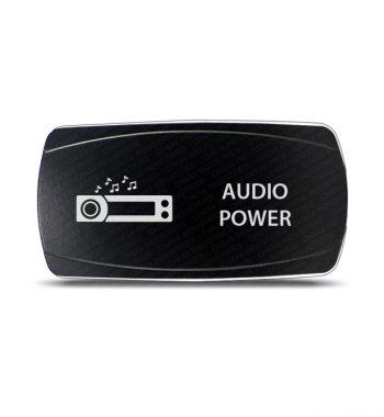 CH4x4 Rocker Switch Audio Power Symbol 2 - Horizontal