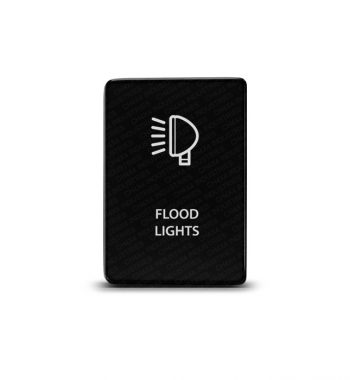 CH4x4 Toyota Small Push Switch Flood Lights Symbol