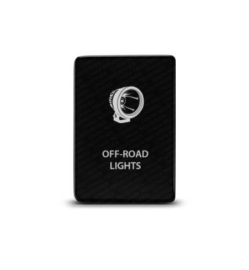 CH4x4 Toyota Small Push Switch Off-Road Lights Symbol 3