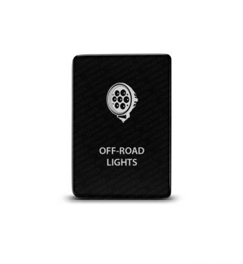 CH4x4 Toyota Small Push Switch Off-Road Lights Symbol 4