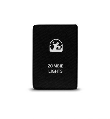 CH4x4 Toyota Small Push Switch Zombie Lights Symbol 2