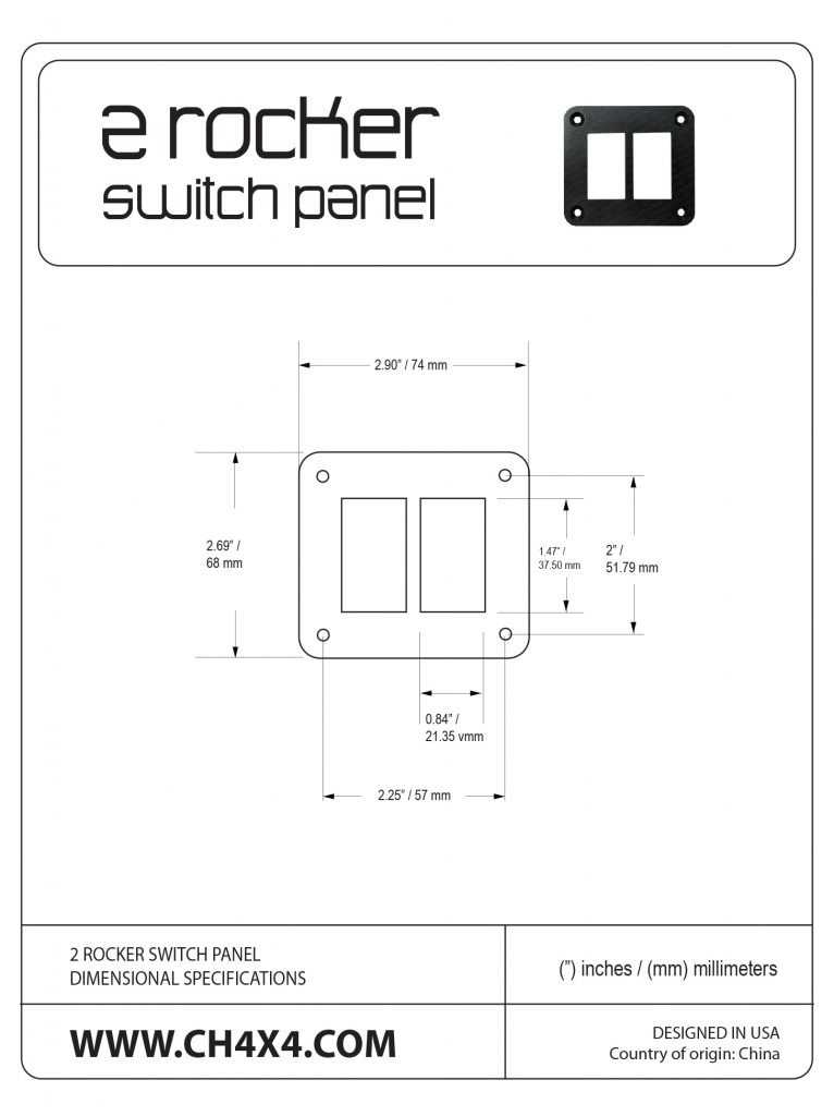 2-Rocket-Switch-Panel-Dimensional-Specifications
