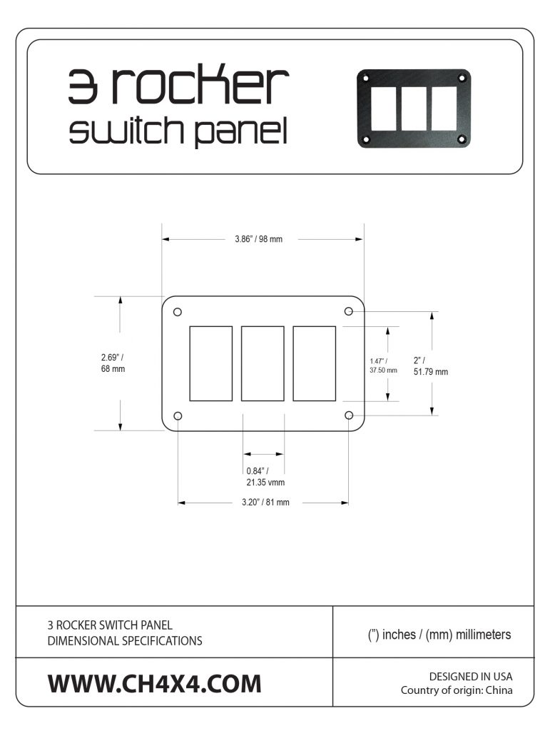 3-Rocket-Switch-Panel-Dimensional-Specifications