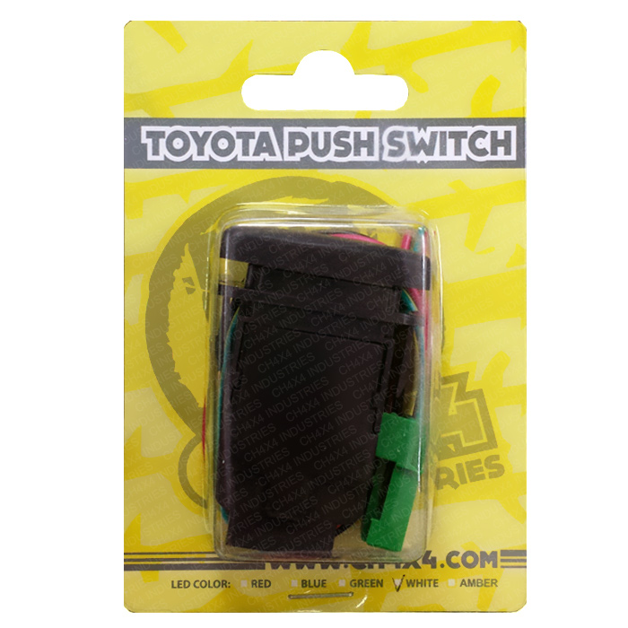 Blue LED Led Light Bar Symbol 2 CH4X4 Push Switch for Toyota Tacoma 3rd Gen