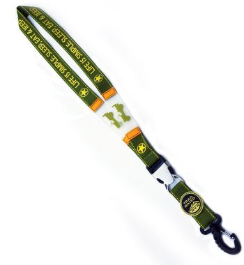 Jeep Life is Simple Lanyard