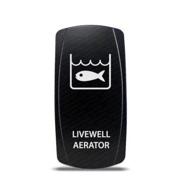 CH4X4 Marine Rocker Switch Livewell Aerator Symbol 2