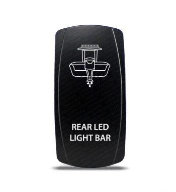 CH4X4 Marine Rocker Switch Rear Led light Bar Symbol