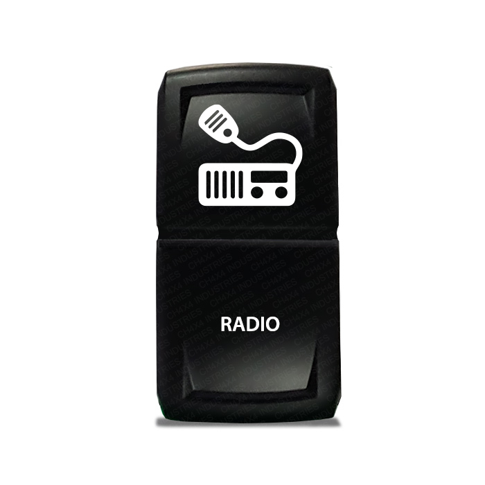 CH4X4 Marine Rocker Switch Radio Symbol 1