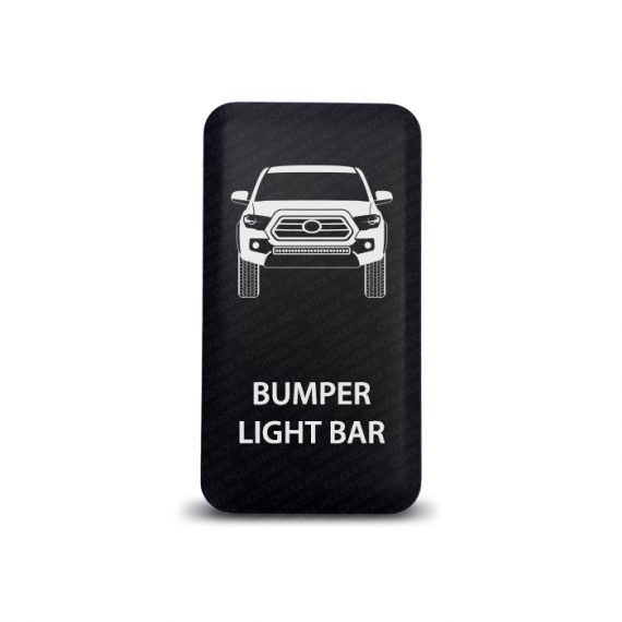 CH4x4 Toyota Push Switch Tacoma 3rd Gen Bumper Light Bar Symbol 2