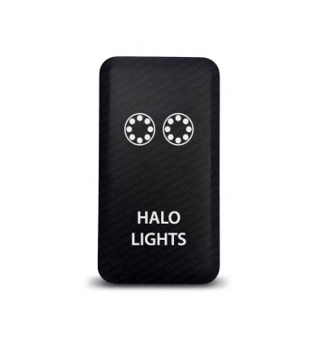 CH4x4 Toyota Push Switch Halo Lights Symbol