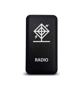 CH4x4 Toyota Push Switch Radio Symbol 3