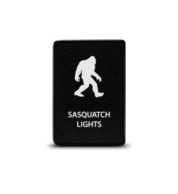 CH4x4 Toyota Small Push Switch Sasquatch Lights Symbol