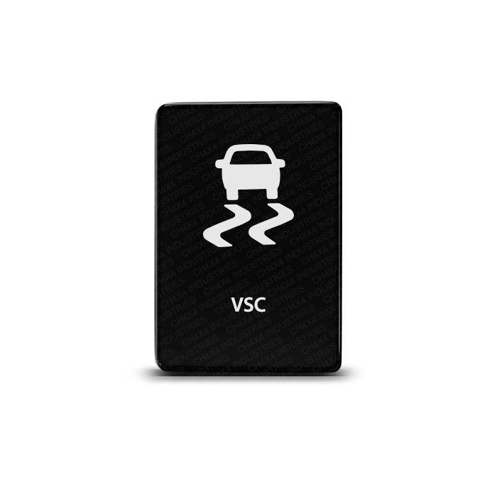 CH4x4 Toyota Small Push Switch VSC Symbol