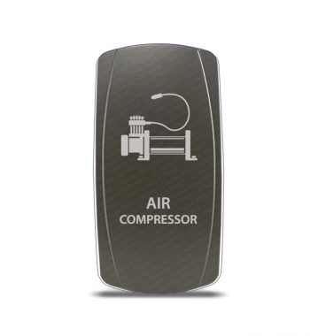 CH4x4 Gray Series Rocker Switch Air Compressor Symbol