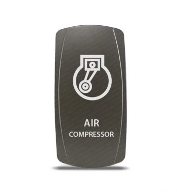 CH4x4 Gray Series Rocker Switch Air Compressor Symbol 3