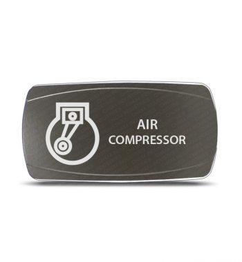 CH4x4 Gray Series Rocker Switch Air Compressor Symbol 3 - Horizontal