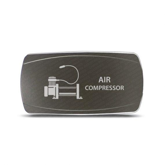 CH4x4 Gray Series Rocker Switch Air Compressor Symbol - Horizontal