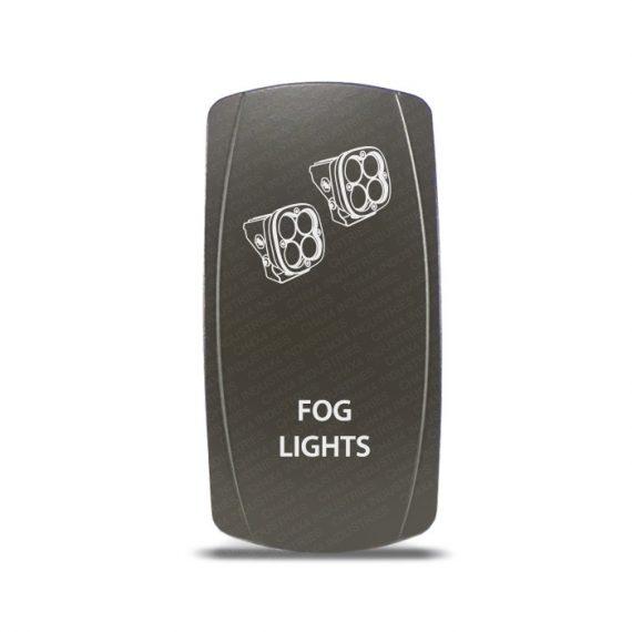 CH4x4 Gray Series Rocker Switch Fog Lights Symbol 2
