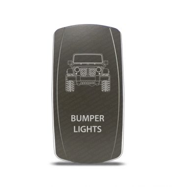 CH4x4 Gray Series Rocker Jeep JK Bumper Lights Symbol