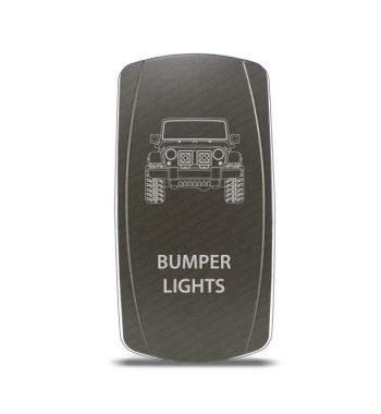 CH4x4 Gray Series Rocker Jeep JK Bumper Lights Symbol