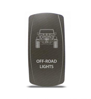 CH4x4 Gray Series Rocker Jeep JK Off-Road Lights Symbol