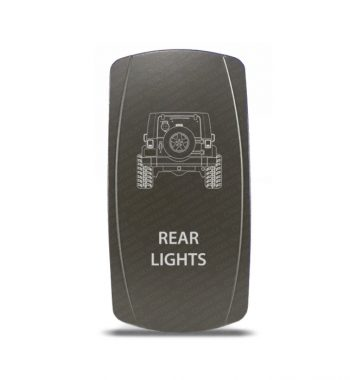 CH4x4 Gray Series Rocker Jeep JK Rear Lights Symbol