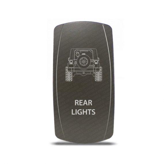 CH4x4 Gray Series Rocker Jeep JK Rear Lights Symbol