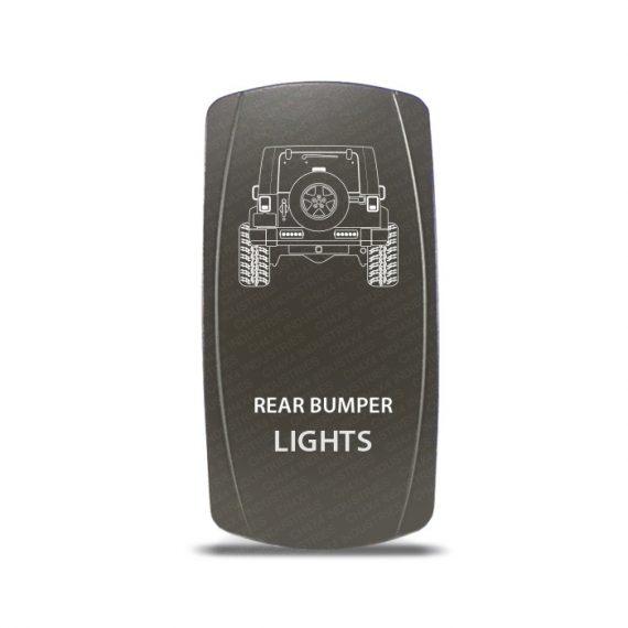 CH4x4 Gray Series Rocker Jeep JK Rear Bumper Lights Symbol