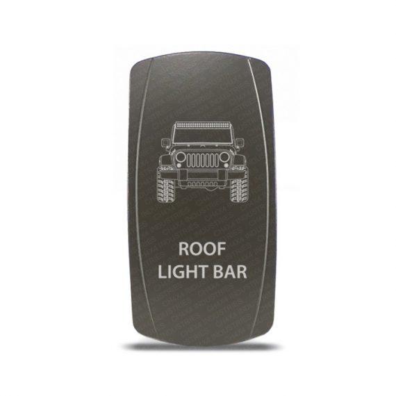 CH4x4 Gray Series Rocker Jeep JK Roof Light Bar Symbol