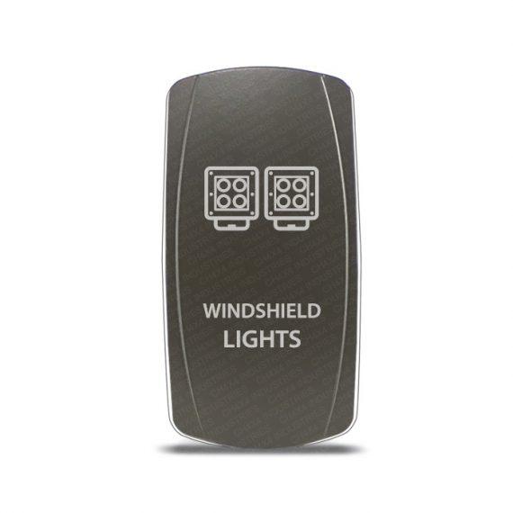 CH4x4 Gray Series Rocker Switch Windshield Lights Symbol