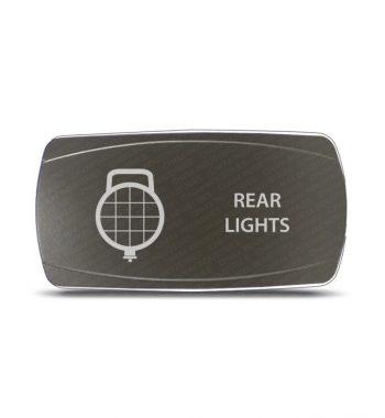 CH4x4 Gray Series Rocker Switch Rear Lights Symbol - Horizontal