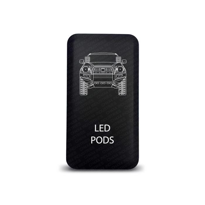 CH4x4 Toyota Push Switch Tacoma LED Pods Symbol
