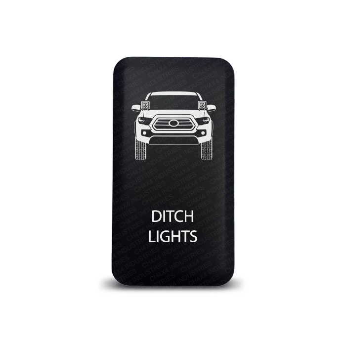 CH4x4 Toyota Push Switch Tacoma 3rd Gen Ditch lights Symbol 2