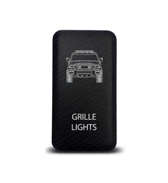 CH4x4 Toyota Push Switch FJ Cruiser Grille Lights Symbol