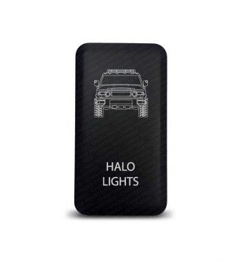 CH4x4 Toyota Push Switch FJ Cruiser Halo Lights Symbol