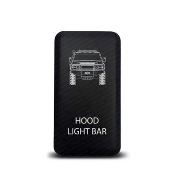 CH4x4 Toyota Push Switch FJ Cruiser Hood Light Bar Symbol