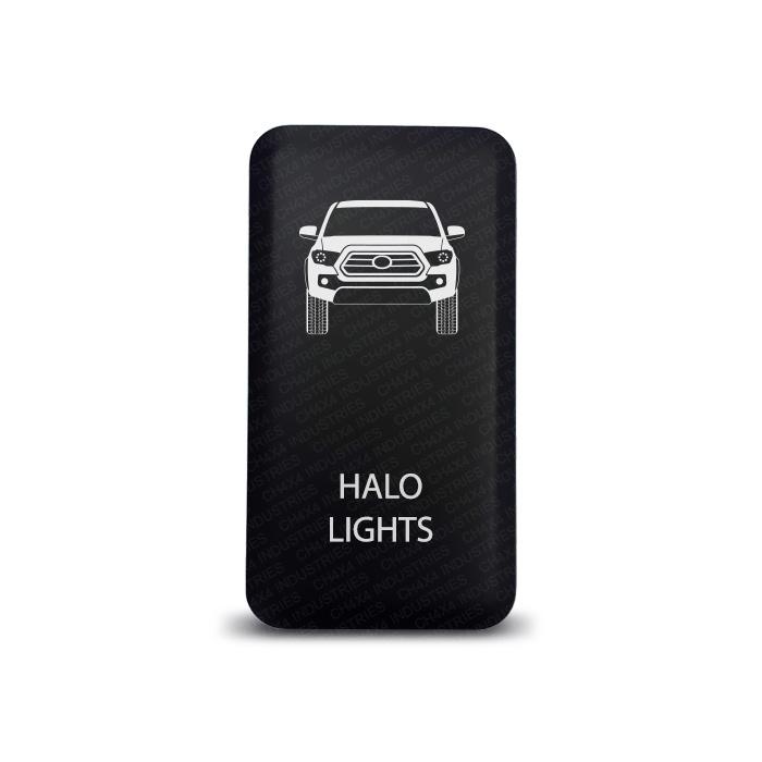 CH4x4 Toyota Push Switch Tacoma 3rd Gen Halo lights Symbol 2